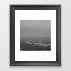 Adams from Rainier Framed Art Print