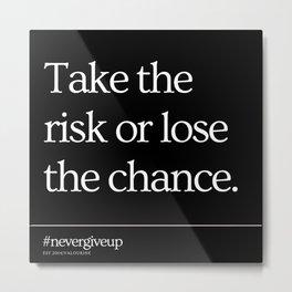 8     Simple Short Quotes   200818   Short Inspiring Motivational Inspirational Quotes Metal Print