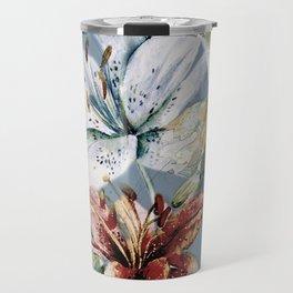 Hummingbird with Flowers Travel Mug