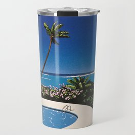 Hiroshi Nagai Art Print Poster Vaporwave Aesthetic Travel Mug