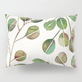 Silver Dollar Eucalyptus – Green Palette Pillow Sham