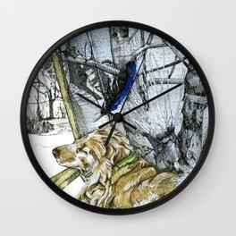 A dream of Leo Wall Clock