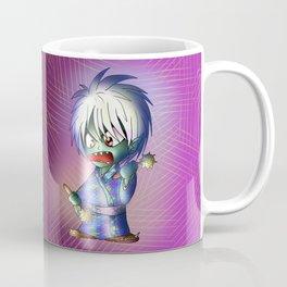 scary chibi dark elf warrior Coffee Mug
