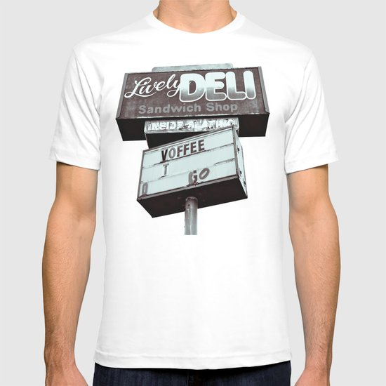 Old deli sign T-shirt