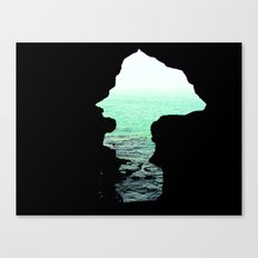 Out of cave Canvas Print