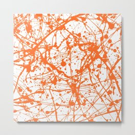 Splat! 10 (Creamsicle) Metal Print
