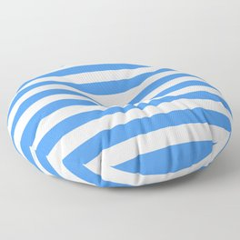 Micronesia San Marino Somalia Nicaragua flag stripes Floor Pillow