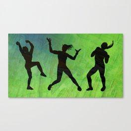 Zumba Canvas Print
