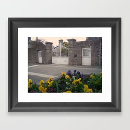 A street Framed Art Print