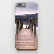 Lake View with Wooden Pier iPhone 6s Slim Case