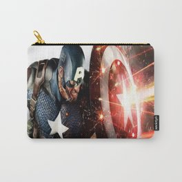 Man Of Captain In America Carry-All Pouch
