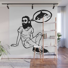 Killer Wails Man Wall Mural