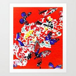 The Flight To Joy Art Print