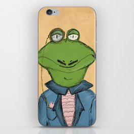 Sophisticated Frog Print iPhone Skin