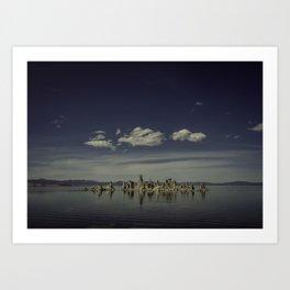 Mono Lake Reflection Art Print
