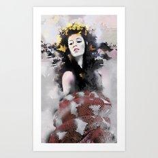 Eve v1 Art Print