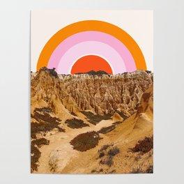 Alentejo Rainbow Poster