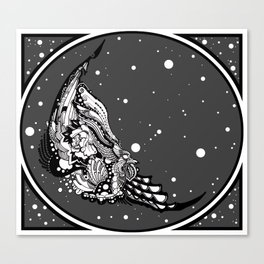 Carrion Canvas Print