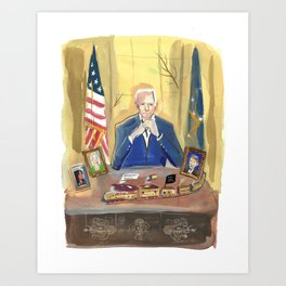 46th President Art Print