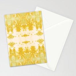 Kumo Ikat Turmeric Stationery Cards