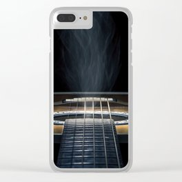 Smokin' Strings Clear iPhone Case