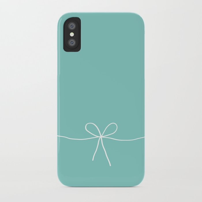 tiffany iphone case blue with a bow iphone by electricavenue 13104