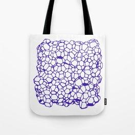 Random Foam (Smashed Blueberry) Tote Bag