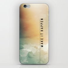 Make It Happen iPhone & iPod Skin