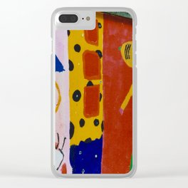 Painted wall Clear iPhone Case