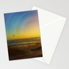 Birds Seeking Stationery Cards
