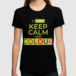 Keep Calm And Colour T-shirt