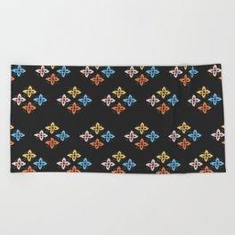 Las Flores 02 (Patterns Please) Beach Towel