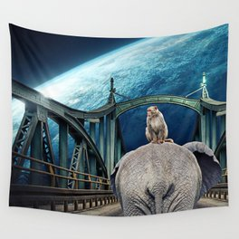 Planet of the Apes by GEN Z Wall Tapestry