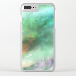 Turmoil Clear iPhone Case