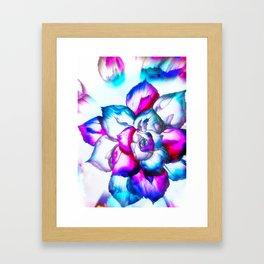 beAutiFully FloWer Framed Art Print