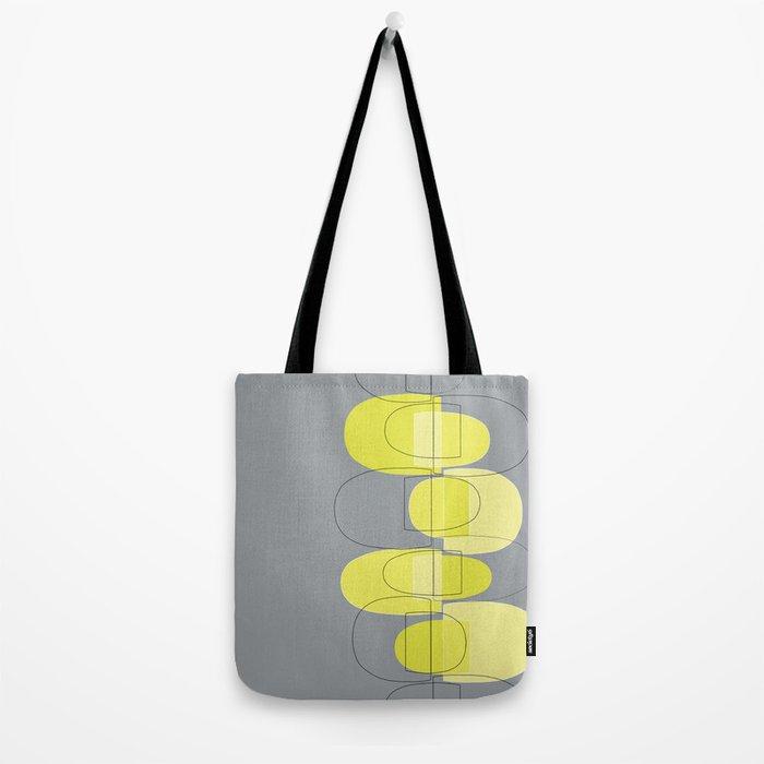 Mod Pods yellow Tote Bag