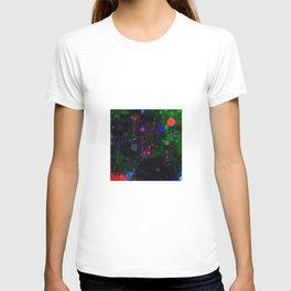Digital Artist Textured Paint Splash Abstract T-shirt