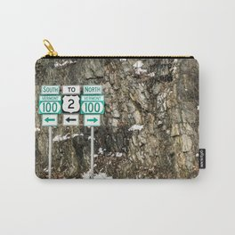 Vermont Route 100 Carry-All Pouch