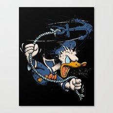 QUACKKKK!!!! Canvas Print