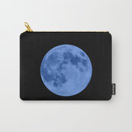 MOON GLOW BLUE Carry-All Pouch