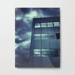 Stormy Windows Metal Print