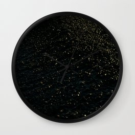 earth -  stars Wall Clock