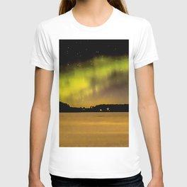 Northern Lights Fill The Sky T-shirt