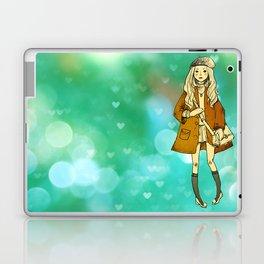 La Jeune Fille Laptop & iPad Skin