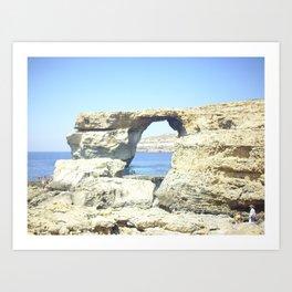 Dweja-Gozo-Malta Art Print