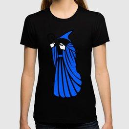 Blue Wizard Clipart T-shirt