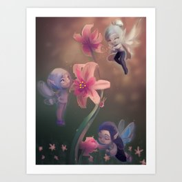 Fairy Dew Art Print