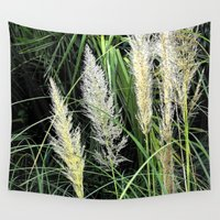 florida Wall Tapestries featuring Florida Grasses by Glenn Designs