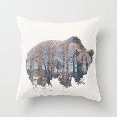 WILD ANIMAL 02 Throw Pillow