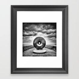 Ring Framed Art Print